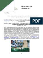 October 2009 White Tailed Kite Newsletter, Altacal Audubon Society