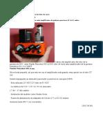 Crear Un Amplificador de Guitarra de Tubo de Vacío DIY Mini Fender Princeton 5F2-A