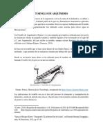 TORNILLO DE ARQUÍMIDES