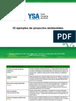 55 Ejemplos De Proyectos Ambientales.pdf