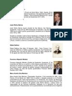 Presidentes de Centroamerica