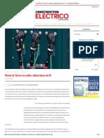 Diseño de Tierras en Cables Subterráneos de at - Constructor Eléctrico