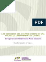 Los Derechos del Contribuyente en una Sociedad Transparente y Global-La experiencia del Ombudsman Fiscal Mexicano