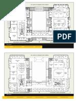 USC Cinematic Arts Complex Floorplan Map Floors 2-3