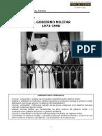 885-CST07 Módulo 3 El Gobierno Militar Entre 1973 y 1990 2015