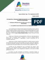 BOLETÍN 965 DIF MUNICIPAL ENCUENTRO CULTURAL Y ARTÍSTICO DE ADULTOS MAYORES