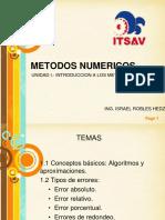 METODOS NUMERICOS U1
