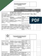 Cronograma Fase I Analisis