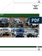 UAZ Comprehensive Vehicles Brochures for Philippines and  other ASEAN Markets