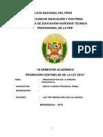 Monografia Presupuestos de La Prision Preventiva Castillo