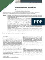 evaluation neurodevelopment CHD