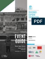 Doors Open Denver 2018 Event Guide