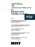 Revista del Instituto Peruano de Dcho Tributario