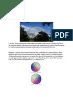 Geodesic Written Report