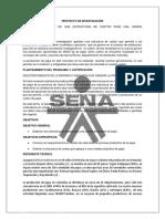Proyecto de Investigacion Estructura de Costos Para La Produccion de Papa Senova