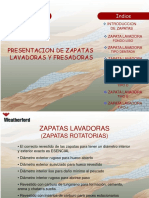 Zapatas Lavadoras