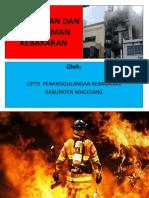 Pencegahan Dan Pemadaman Kebakaran