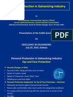 Personal Protection in Galvanizing Industry