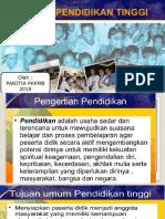 2. Sistem Pendidikan Tinggi