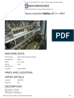 Wafios chain link fance machine Wafios DF 3 + AFK1 - Machines offered at Machineseeker
