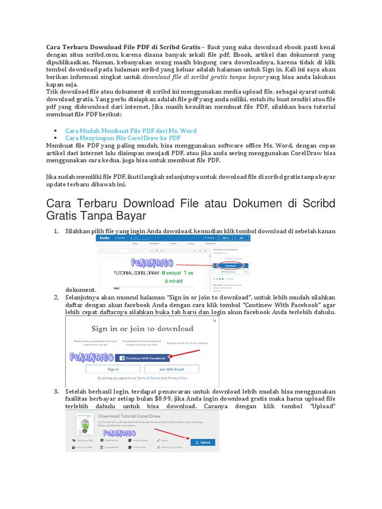 cara download file pdf gratis