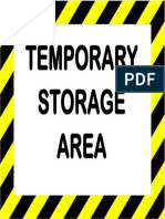 Temporary Storage Area