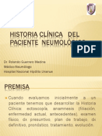 Historia Clínica Del Paciente Neumológico Unfv