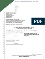 Oppos to MSJ - Plaintiffs