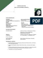 Curriculum Vitae Mod. Oficio