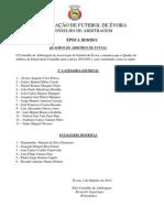 Quadros Futsal Comunicado