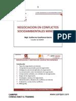 negociación del conflicto social