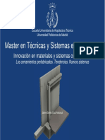 Master en Tecnicas y Sistemas en Edificaciones
