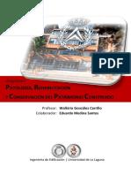 Libro Patología Rehabilitacion y Conservación