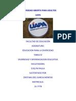 Tarea-4 Educacion Para La Divercidad