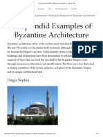 10 Splendid Examples of Byzantine Architecture - History Lists