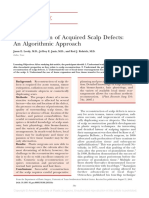 Reconstruction of Acquired Scalp Defects_ an Algorithmic Approach