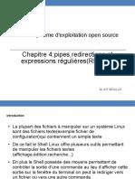 Chapitre 4 - Pipes Redirections Et Expressions Régulières