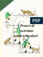 Proiect Activitate Extracurriculară Diana a. 2018-2019
