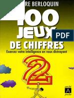 100 Jeux de Chiffres - Archipoche