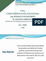 características del gas natural