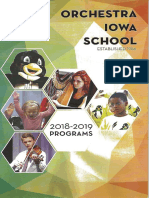 Orchestra Iowa School Music Education (2018/2019)