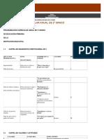 Plan Anual de Trabajo Curricular 2º