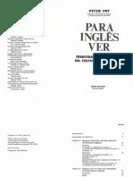 Fry, Peter Para Ingles Ver Identidade e Politica Na Cultura Brasileira