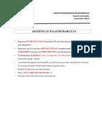 Soal Tugas Pendahuluan Modul 4 Pemodelan Basis Data