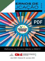 Caderno de educação
