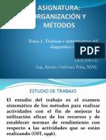 Técnicas e instrumentos del diagnóstico institucional