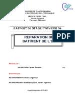 Couvertur de Rapport de Stage
