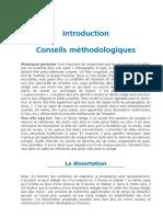 Méthodologie- Dissertation - Commentaire d'Arrêt