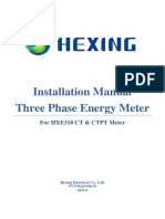 10.13 .Installation Manual of HXE310CT CTPT Meter-V2