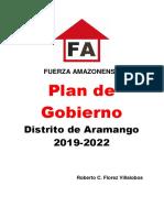 Plan de Gobierno Amazonas 1